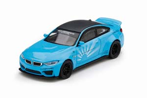 BMW M4 LB WORKS BABY BLUE