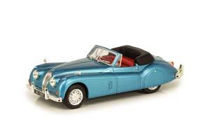 JAGUAR XK140 ROADSTER YEAR 1957 LIGHT BLUE METALLIC *ЯГУАР ДЖАГУАР