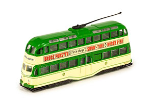 TRAM BLACKPOOL BALLOON TRAM 1960 GREEN/BEIGE *ТРАМВАЙ