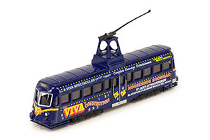 TRAM RAILCOACH (BRUSH) BLACKPOOL BRUSH TRAM 1937 BLUE *ТРАМВАЙ