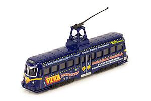 TRAM RAILCOACH (BRUSH) BLACKPOOL BRUSH TRAM 1937 BLUE *ТРАМВАЙ