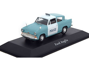 FORD ANGLIA 105E METROPOLITAN POLICE 1959 LIGHT BLUE/WHITE