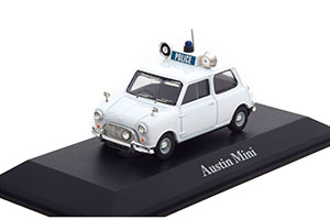 AUSTIN MINI ROYAL ULSTER CONSTABULARY 1961 WHITE