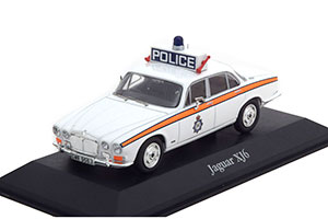 JAGUAR XJ6 WEST YORKSHIRE POLICE 1971 WHITE