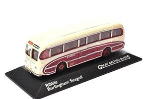 LEYLAND TIGER CUB BURLINGHAM SEAGULL PCSRIBBLE PCS 1951 BEIGE/MAROON *ЛЕЙЛАНД