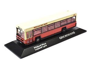 LEYLAND LYNX PCSMIDLAND WEST PCS 1986 BEIGE/RED *ЛЕЙЛАНД