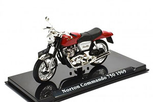 NORTON COMMANDO 750 1969 RED *НОРТОН