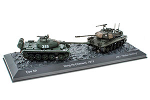 TANK PANZER TYPE 59 (Т-54) И M41