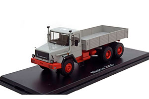 MAGIRUS 290 D26L 6X4 1975 GREY/RED *МАГИРУС