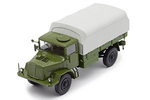 TATRA 128 4x4 ONBOARD TRUCK WITH TENTOM (CZECH REPUBLIC ARMY) 1951 OLIVE *ТАТРА