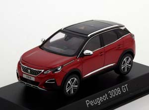 PEUGEOT 3008 GT CROSSOVER (NEW BODY) 2016 ULTIMATE RED