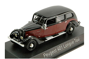 PEUGEOT 401 LONGUE TAXI 1935 DARK RED/BLACK *ПЕЖО ПИЖО ПЫЖ