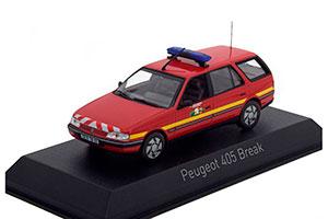 PEUGEOT 405 BREAK POMPIERS (FIREMAN) 1991 *ПЕЖО ПИЖО ПЫЖ