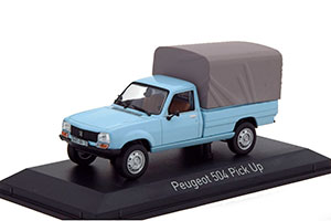 PEUGEOT 504 PICK-UP 4x4 WITH TENT 1985 CLEAR BLUE *ПЕЖО ПИЖО ПЫЖ