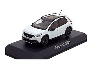 PEUGEOT 2008 CROSSOVER (FACELIFTING) 2016 WHITE