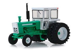 OLIVER 2270 WITH DUAL REAR WHEELS 1972 WHITE/GREEN *ОЛИВЕР