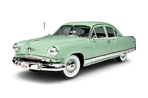 KAISER MANHATTAN 1953 LIGHT GREEN *КАЙЗЕР
