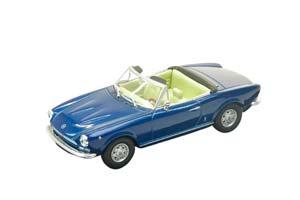 FIAT 124 SPIDER BLUE METALLIC