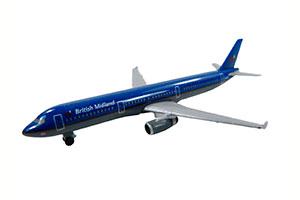 AIRBUS A321-200 BRITISH MIDLAND *ЭЙРБАС АЭРОБУС АИРОБУС