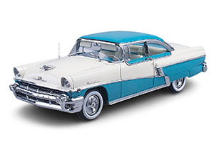 MERCURY MONTCLAIR HAR DTOP 1956 TURQUOISE GREEN/WHITE