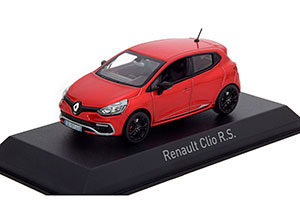 RENAULT CLIO R.S. 2013 FLAMME RED