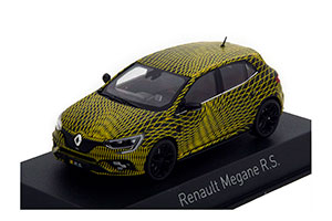 RENAULT MEGANE R.S. TEST VERSION GP MONACO 2017