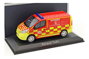 RENAULT TRAFIC POMPIERS INFIRMIER (FIRE MEDICAL CARE) 2014