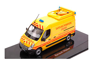 RENAULT MASTER III POMPIERS-VEHICULE SECURITE (TRANSPORT FIRE SAFETY) 2017 YELLOW