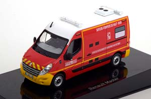 RENAULT MASTER III POMPIERS-VSAV (FIRE EMERGENCY MEDICAL CARE) 2017