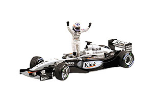 MCLAREN MP4/17D K.RAIKKONEN 2003 FIRST WIN MALAYSIAN GP 23.03.2003