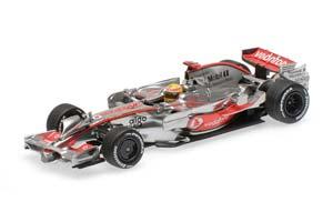 McLaren Mercedes VODAFONE MP4/23 LEWIS HAMILTON BRAZILIAN GP 2008