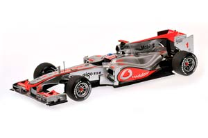 MCLAREN MP4/25 2010 J.BUTTON #1
