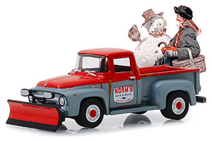 FORD F-100 PICK-UP WITH SNOW PLOW 1956 *ФОРД ФОРТ