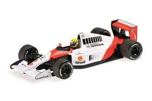 McLaren Honda MP4/6 Ayrton Senna World Champion 1991