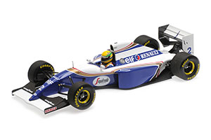 WILLIAMS RENAULT FW16 AYRTON SENNA BRAZIL GP 1994
