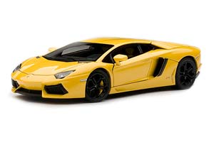 LAMBORGHINI AVENTADOR LP700-4 2011 (WITH OPENING) METALLIC YELLOW