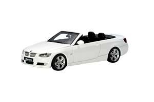 BMW 3 SERIES CONVERTIBLE E93 2007 WHITE