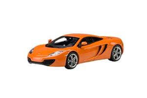 MCLAREN MP4-12C 2011 METALLIC ORANGE