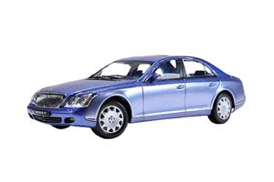 MAYBACH 57 SWB 2003 COTE DAZUR BLUE MIDDLE/COTE DAZUR BLUE BRIGHT