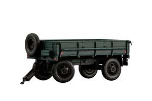 TRAILER 2-PN-2 (USSR RUSSIA) GREEN | ПРИЦЕП 2-ПН-2 *ТРЕЙЛЕР