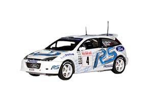 FORD FOCUS RS WRC #4 RALLYE MONTE CARLO 2003 WHITE/BLUE *ФОРД ФОРТ