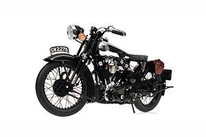 BROUGH SUPERIOR SS 100 'T.E. LAWRENCE' 1932 BLACK *БРО БРОУГХ