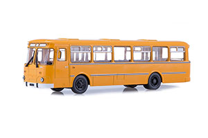LIAZ 677M CITY BUS (USSR RUSSIAN BUS) 1967-1994 YELLOW   ЛИАЗ 677М ГОРОДСКОЙ АВТОБУС