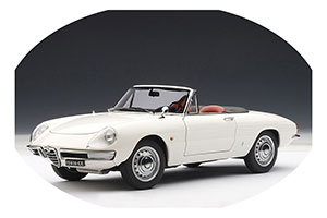Alfa Romeo 1600 Duetto Spider 1966 White