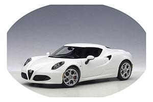 Alfa Romeo 4C 2013 Glossy White