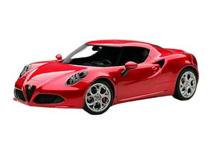ALFA ROMEO 4C 2013 RED METALLIC