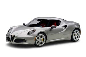 ALFA ROMEO 4C 2013 GRAY METALLIC