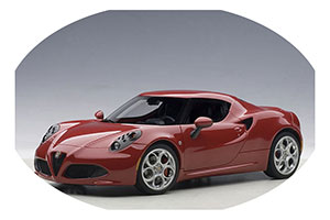 ALFA ROMEO 4C COUPE 2013 RED