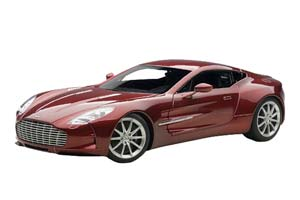 ASTON MARTIN ONE 77 2009 DIAVOLO RED