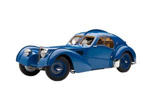 BUGATTI ATLANTIC 57S 1936 BLUE WITH BLUE WHEELS